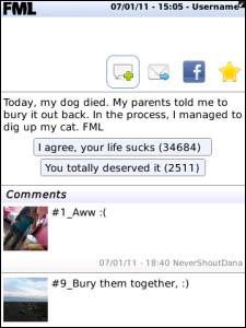 FML for BlackBerry