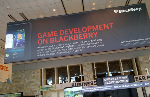 BlackBerry at GDC