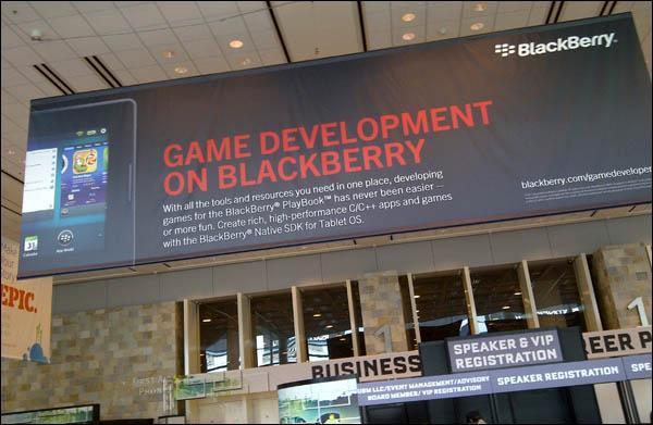 BlackBerry at GDC