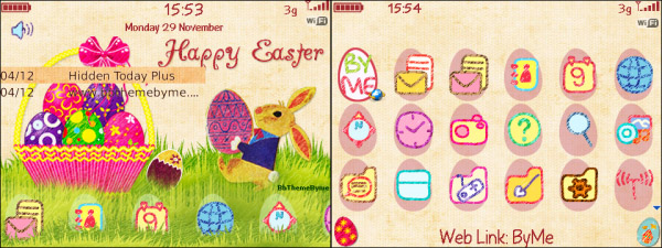 A Cute Bunny Easter by byme