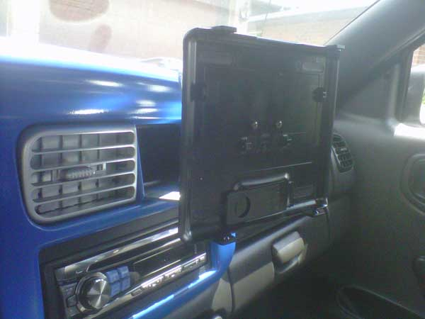 Custom vehicle mount