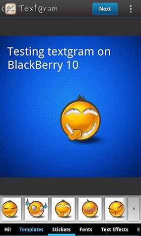 Textgram
