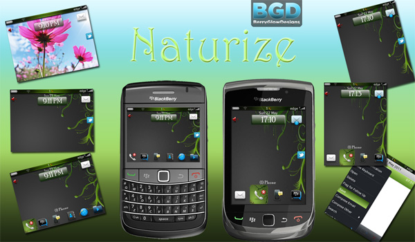 Naturize Premium by Berry Glow Designs