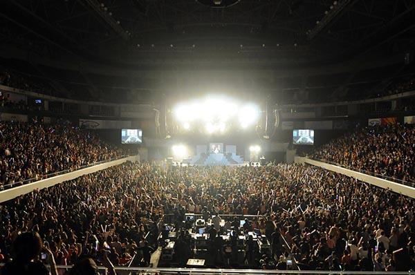 Nicki Minaj in concert in Manila