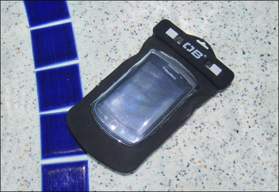 Overboard case for BlackBerry