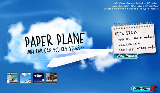 PaperPlane for BlackBerry PlayBook