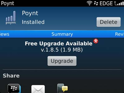 Poynt for BlackBerry