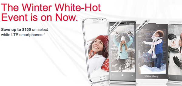 Rogers Winter White-Hot event