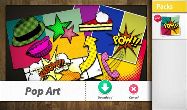Pop Art theme pack