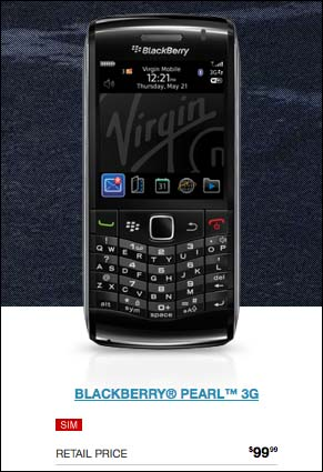 BlackBerry Pearl 9100 3G