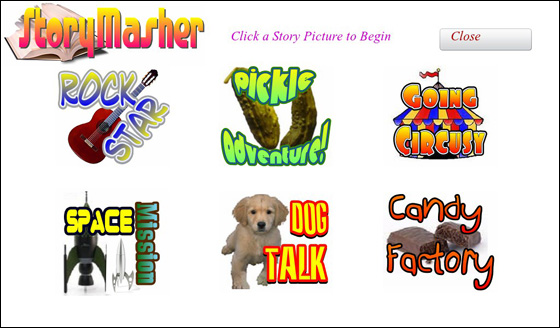 StoryMasher for BlackBerry PlayBook