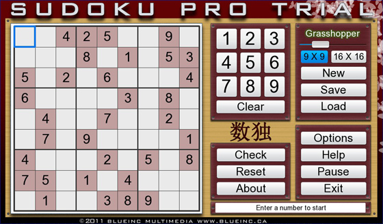 A quick look at Sudoku Pro for the BlackBerry PlayBook by