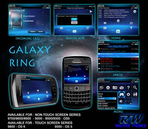 Galaxy Ring by Walker Themes