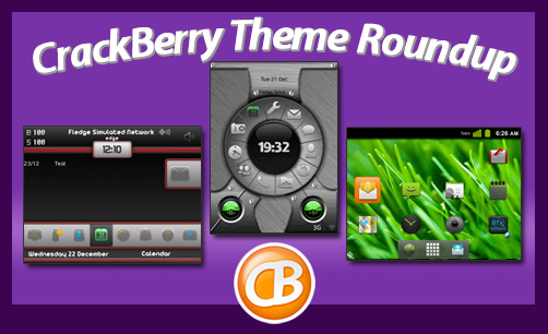 CrackBerry theme roundup