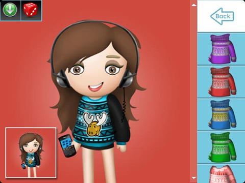 Avatar Builder Ugly Sweater expansion pack