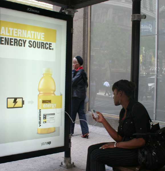 Vitaminwater Bus Stops