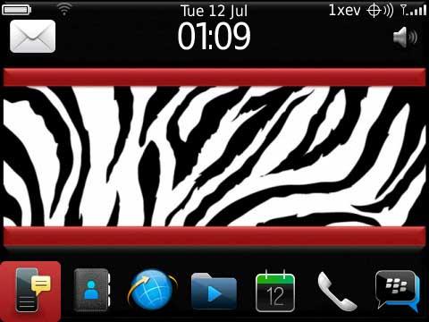 Zebra-Red by JavaBrat