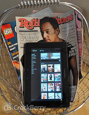 Zinio for BlackBerry PlayBook