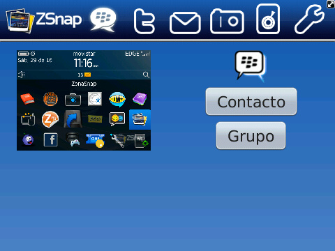 ZonaSnap for BlackBerry