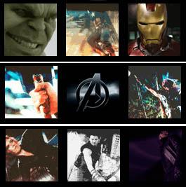 BBM Animated Avengers avatars