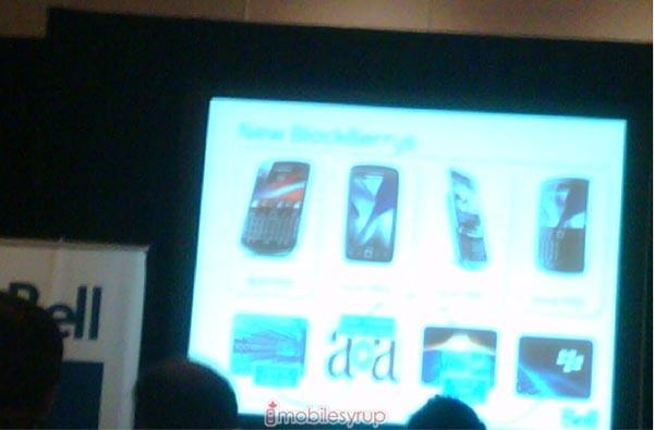 Bell BlackBerry lineup