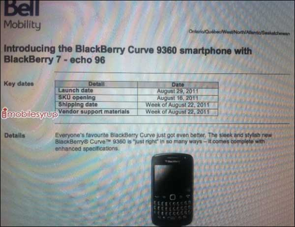Bell Mobility Curve 9360