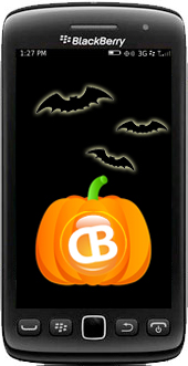 BlackBerry Halloween