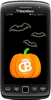 BlackBerry Halloween