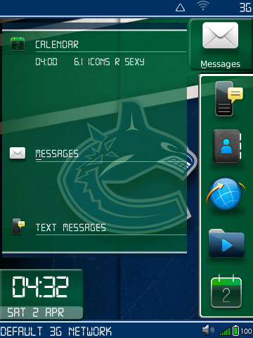 Vancouver Canucks by foberry