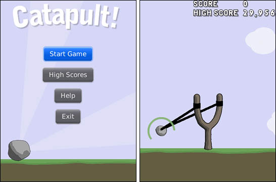 Catapult for BlackBerry by Dekerta Software
