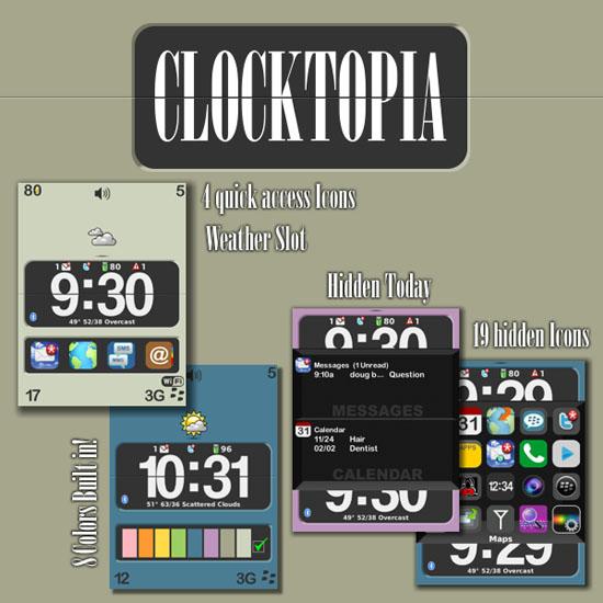 ClockTopia by StaticFX Designs