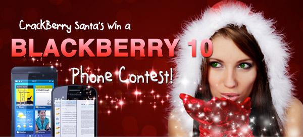 CrackBerry Santa winner