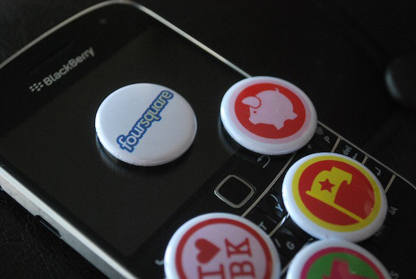 foursquare for BlackBerry