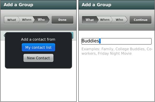 GroupMe for BlackBerry