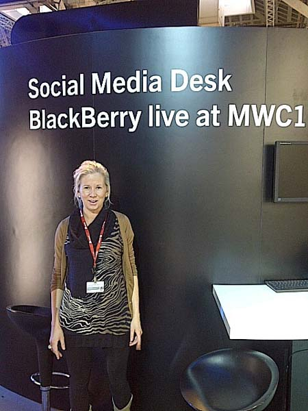 BlackBerry at MWC11