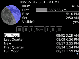 Moon Almanac by ByteStackers
