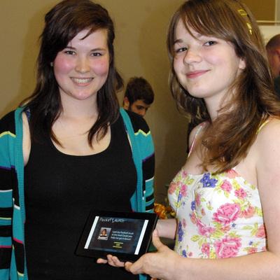 Krista McCormick and Melanie Lapointe