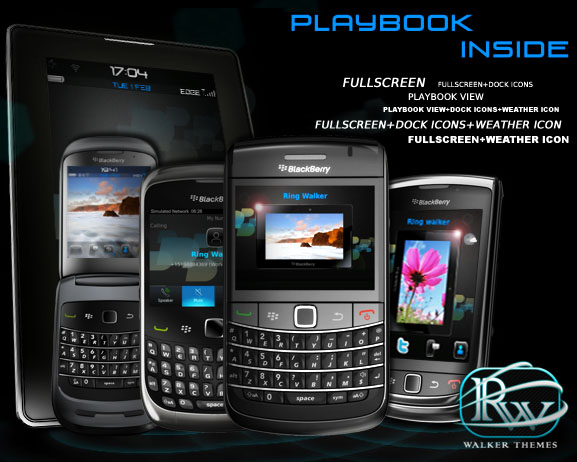 PlayBook Inside by Walker Themes