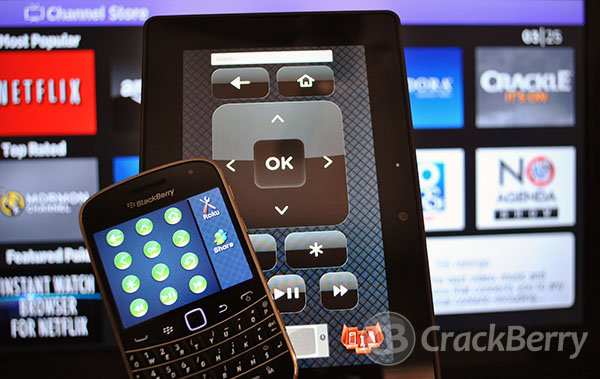 Remoku for BlackBerry
