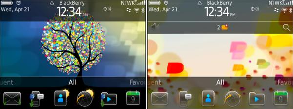 Spring BlackBerry Themes from RIM