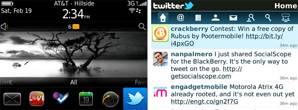 Twitter for BlackBerry v1.1.0.13