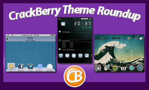 BlackBerry theme roundup