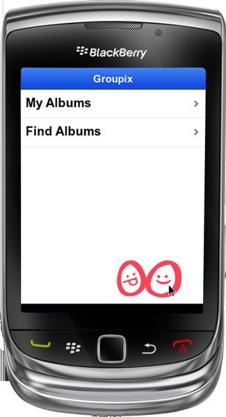 Groupix for BlackBerry