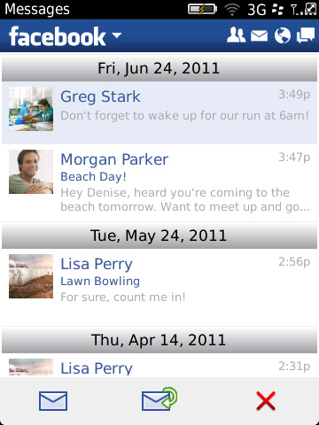 Facebook for BlackBerry v2.0 beta update features BBM Integration, Likes notifications and more