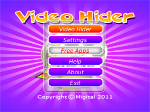 Video Hider by Migital