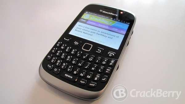 SaskTel releases the BlackBerry Curve 9320