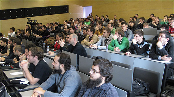 Developers in attendance at BlackBerry 10 Mini Jam, Maribor