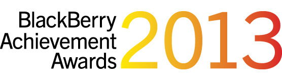 Get yourself nominated for the BlackBerry Achievement Awards 2013