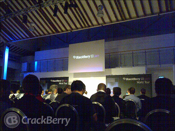BlackBerry 10 Jam London keynote