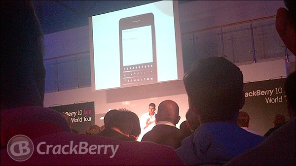 BlackBerry 10 Jam London - Vivek demo